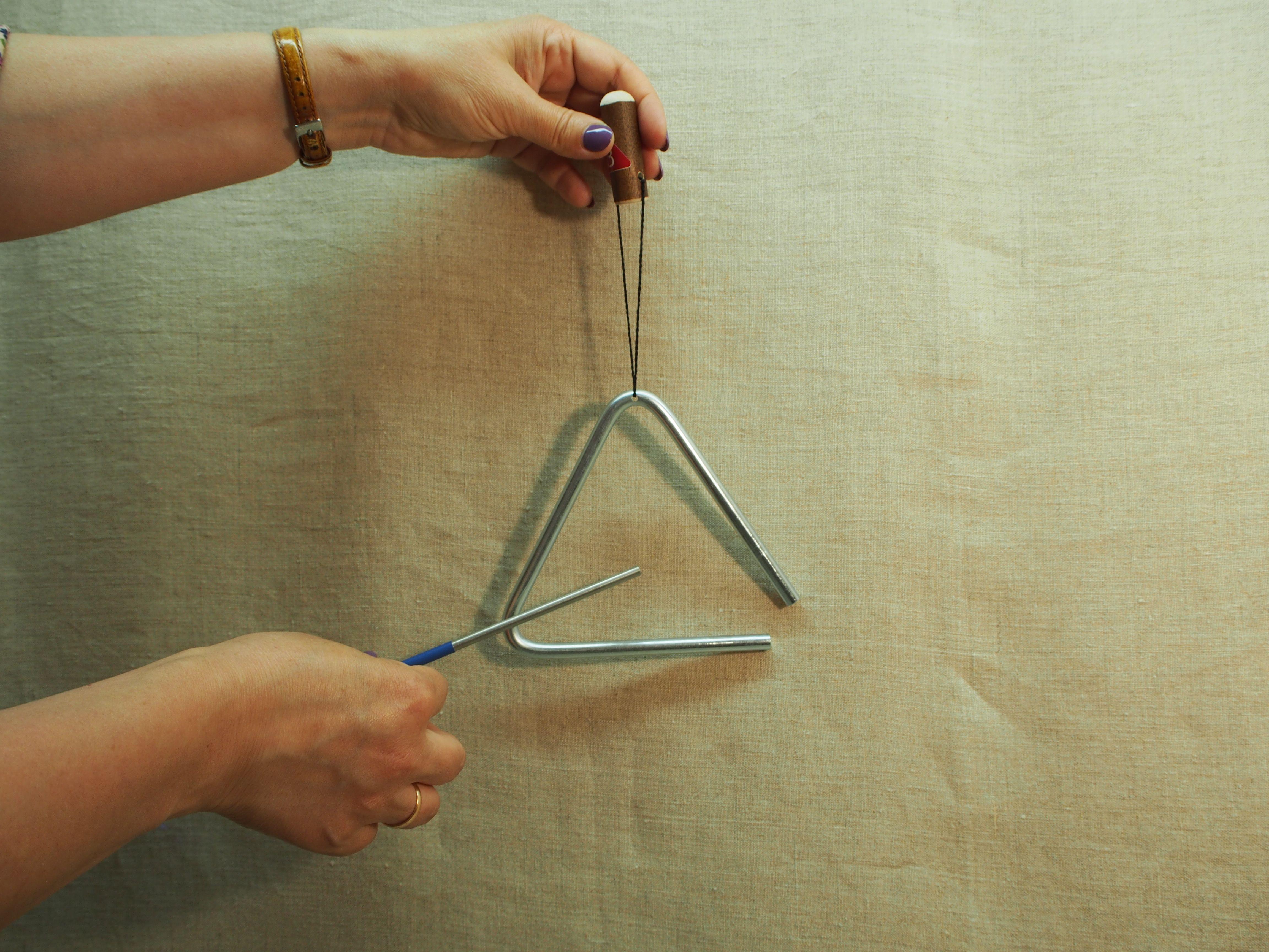 Serebrov's workshop / Musical triangle 14 cm.