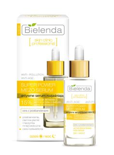 Active brightening serum day/night, SKIN CLINIC PROFESSIONA, BIELENDA, 30ml
