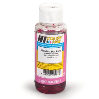HI-COLOR HP universal ink, light magenta, 0.1 l, aqueous
