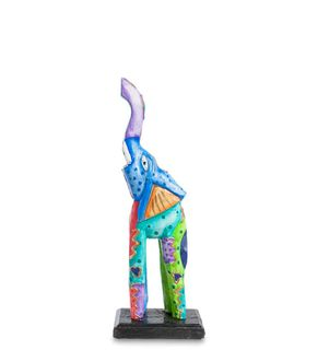 Figurine wooden Elephant 30 cm
