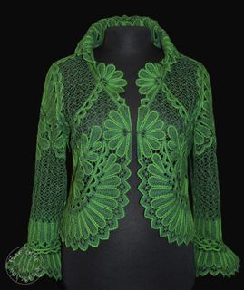 Women's lace jacket