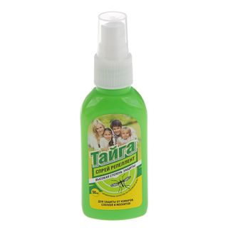Taiga spray repellent from mosquitoes 50 ml. NEW