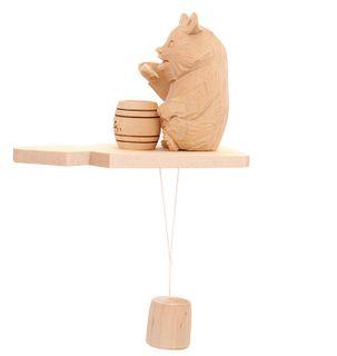 Souvenir Bear with honey, Bogorodskaya toys
