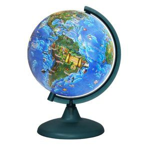 Globe child 210mm on a plastic stand