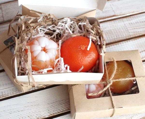 Mini pack handmade soap 2 Mandarin Peel