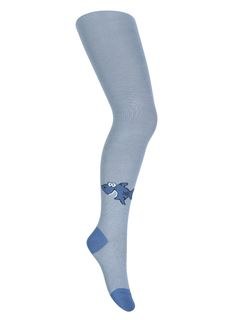 "Tights with a pattern ""Shark"""