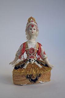 Souvenir doll-box - Eastern