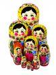Matryoshka traditional 10 doll - view 2