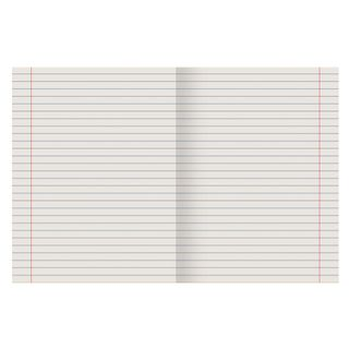 Notebook, GREEN cover, 18 sheets, Pifagoras, offset No.2 ECONOM, line with fields