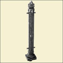 Pillars with electroplating