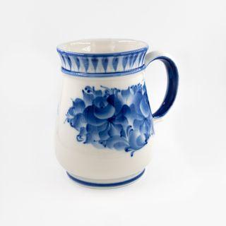 Beer mug 2nd grade, Gzhel Porcelain factory