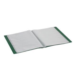Folder 60 liners BRAUBERG standard, green, 0.8 mm