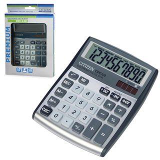Desktop calculator CITIZEN CDC-100WB, SMALL (135x109 mm), 10 digits, dual power supply