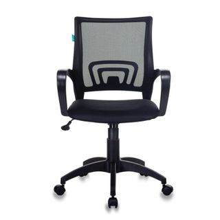 Chair CH-695N / BLACK, with armrests, mesh, black