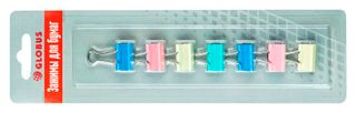 The holders 19 mm 7штук assorted color, blister