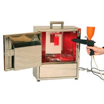 Portable complex for applying powder coatings 'MINISTART'