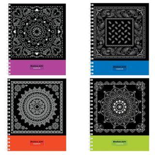 Notebook A5, 80 sheets, HATBER VK, spiral, cage, cardboard cover,