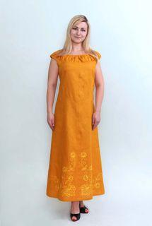 Dress womens linen 9-259