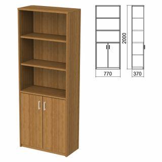 Semi-closed cabinet