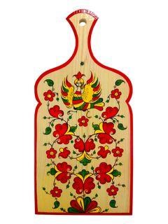 "Board kitchen ""Pyermogori painting"" 37.5 cm"