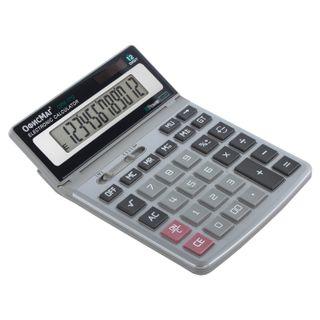 Desktop metal calculator OFFISMAG OFM-1712 (200x152 mm), 12 digits, dual power supply