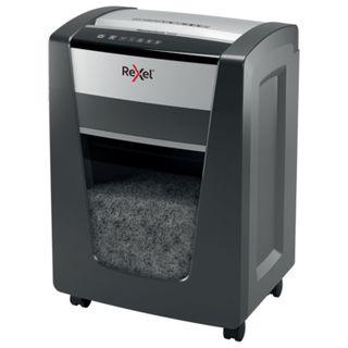 Shredder (shredder) REXEL MOMENTUM X420, 4 security level, fragments 4x40 mm, 20 sheets, 30 l