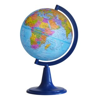 Political globe with a diameter of 150 mm