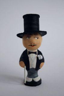 Doll-poteshka gift porcelain. Frant.