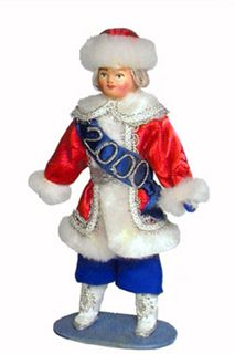 """Doll gift. Boy """"New year"""" fairy tale character"""