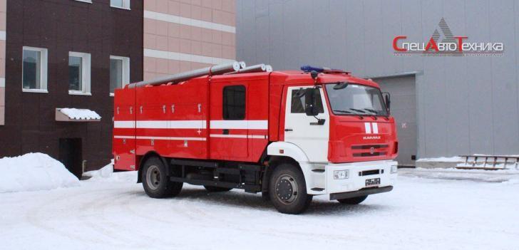 Fire truck based on KAMAZ AC-5.0-40 (43253)