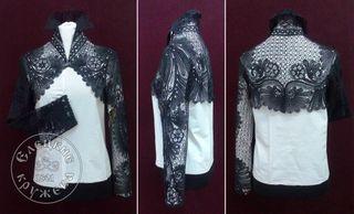 Bolero womens lace black