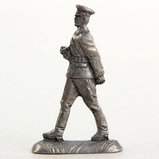 "Tin soldier ""Officer of the border guard"""