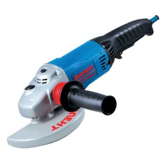 Machine grinding angular MSU9-16-180E, 1600 W, drive 180 mm, 8400 rpm, M14 carving, FIOLENT