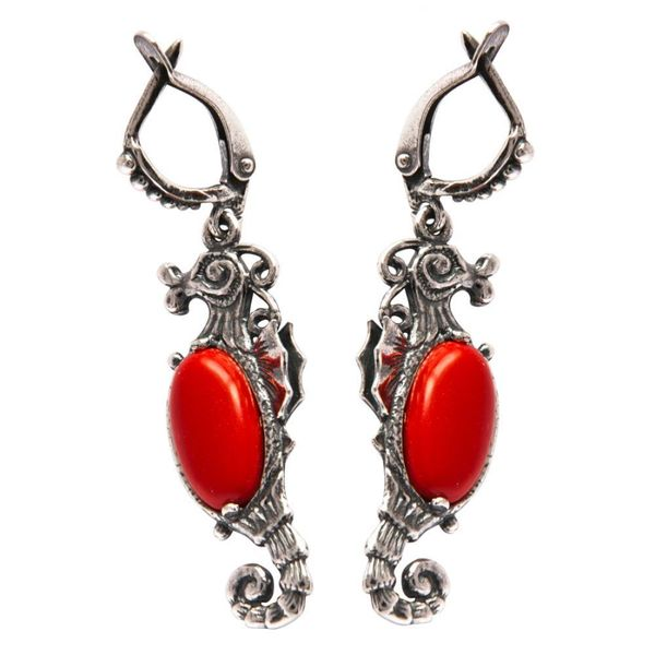 Earrings 30155 'seahorse'