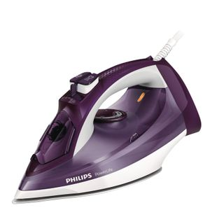 Iron PHILIPS GC2995/30, 2400 watts, ceramic-metal coating, self-cleaning, anticaps, purple