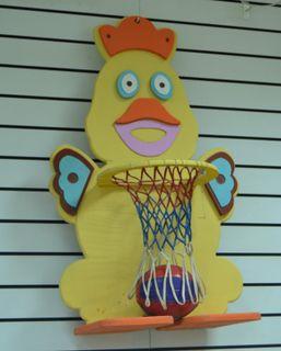 "Baby basketball rack ""Donald"" for kids"