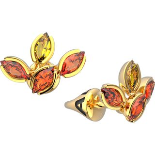 Yellow gold studs - Alilu collection