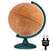 Backlit Mars Globe NEW
