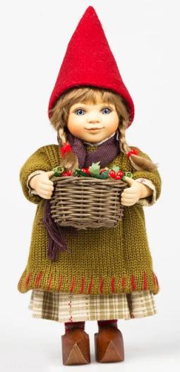 Porcelain doll Birgitte Frigast