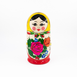 Russian - traditional nesting doll, 7 dolls