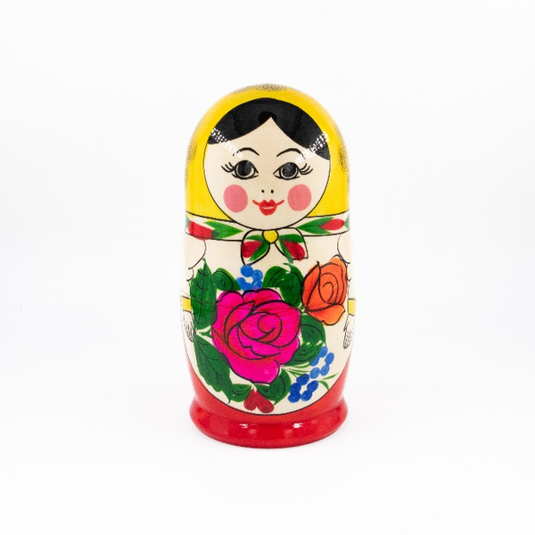 Russian - traditional nesting doll, 7 dolls