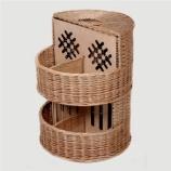 "Azimuth / Wicker box from the vine ""Anastasia"""