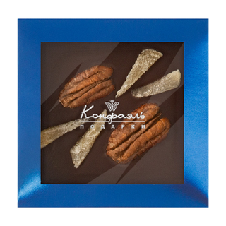 Chocolate with additives Konfael, blue, 35 g