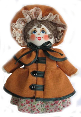 "Gift workshop / Textile doll ""Sonechka"""
