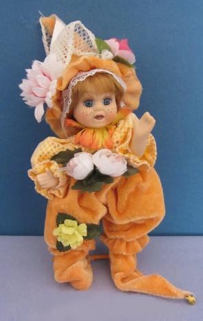 Porcelain doll lesovichok