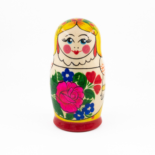 Sudarushka - traditional nesting doll, 6 dolls