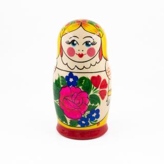 Sudarushka - traditional nesting doll, 6 dolls