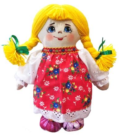 "Gift workshop / Textile doll ""Lyalya"""