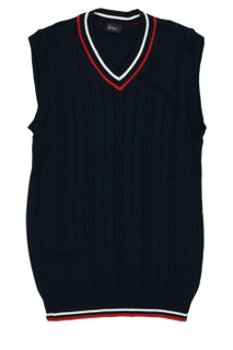 Sleeveless vest black for boy