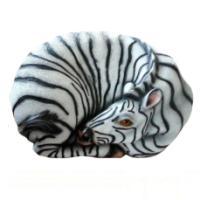 "Remeko / Decorative stone ""Zebra"", L55 W35 H25 cm"